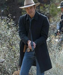Timothy Olyphant Justified Trench Coat