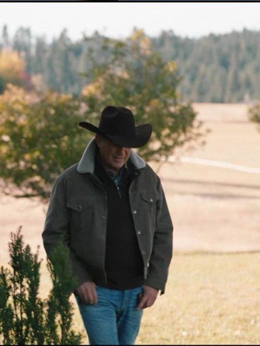 Yellowstone John Dutton Corduroy Jacket