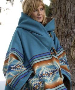 Kelly Reilly Yellowstone Season 3 Blue Coat