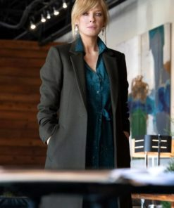 Kelly Reilly Yellowstone Season 3 Trench Coat