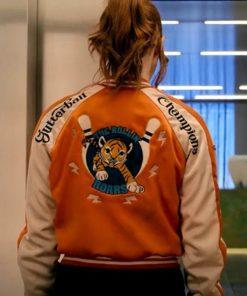 Eva Gunpowder Milkshake Varsity Jacket