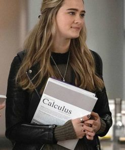 Lizzy Greene A Million Little Things Leather Jacket