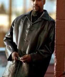 Training Day Detective Alonzo Black Coat