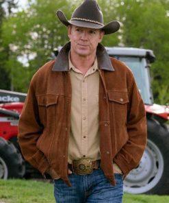 Tim Fleming Heartland Brown Leather Jacket