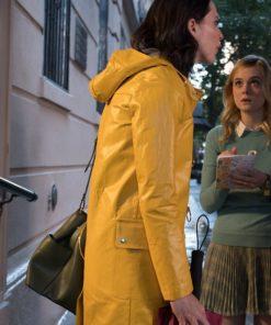 Rebecca Hall A Rainy Day in New York Coat