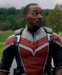 Anthony Mackie The Falcon and the Winter Soldier Leather Jacket
