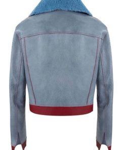 Zoe Chang Love Life Shearling Collar Jacket