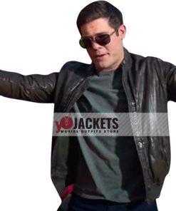 Andy Tuckerman Magic Camp Black Leather Jacket