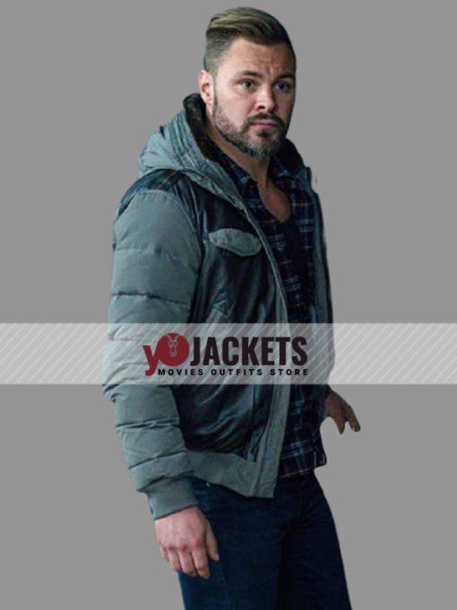 Patrick John Chicago P.D. Adam Ruzek Hooded Bomber Jacket