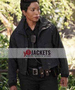 Athena Grant 9-1-1 Season 05 Black Cotton Jacket