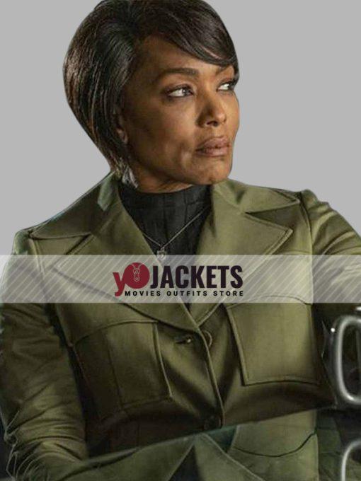 9-1-1 Angela Bassett Green Cotton Coat
