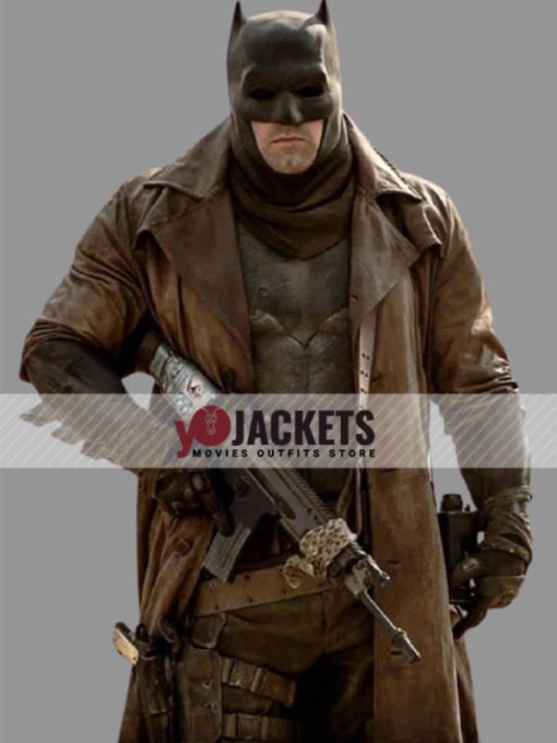 Zack Snyder's Justice League Batman Brown Trench Coat