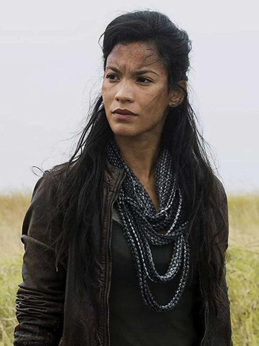 Danay Garcia Fear The Walking Dead Season 04 Leather Jacket
