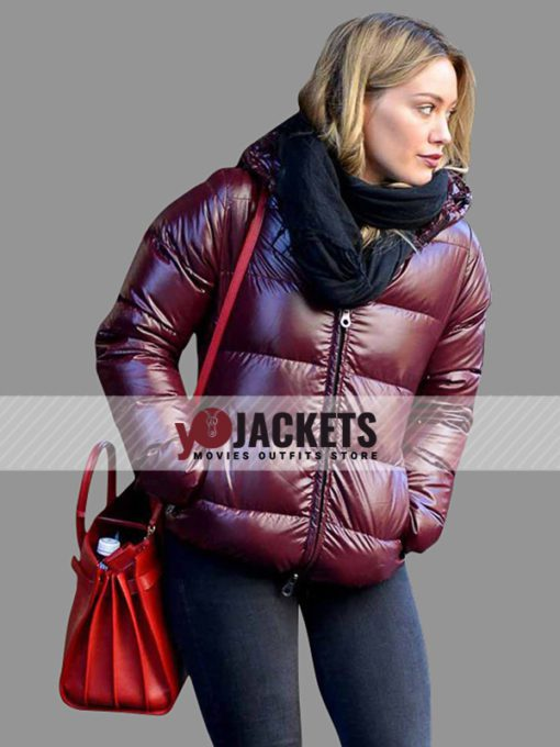 Kelsey Peters Younger Hilary Duff Hooded Puffer Jacket