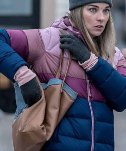 Annie Murphy Kevin Can F**k Himself Puffer Jacket