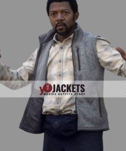 Miles Mussenden The Walking Dead S10 Franklin Grey Vest
