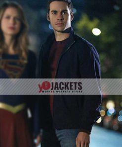 Chris Wood Supergirl Mon-El Cotton Bomber Jacket