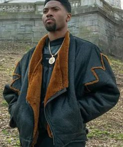 Marvin Thomas Power Book III Shearling Leather Jacket