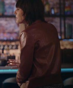 The L Word Generation Q Shane McCutcheon Brown Leather Jacket